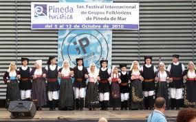 1er. Festival Internacional de Grupos de Folklóricos de Pineda de Mar