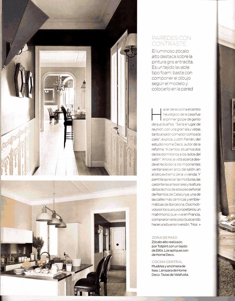 Totpint creando ambientes en la Revista el Mueble 2