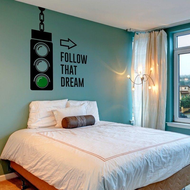 """Tu vinilo de pared al mejor precio y """"Follow That Dream"""""""