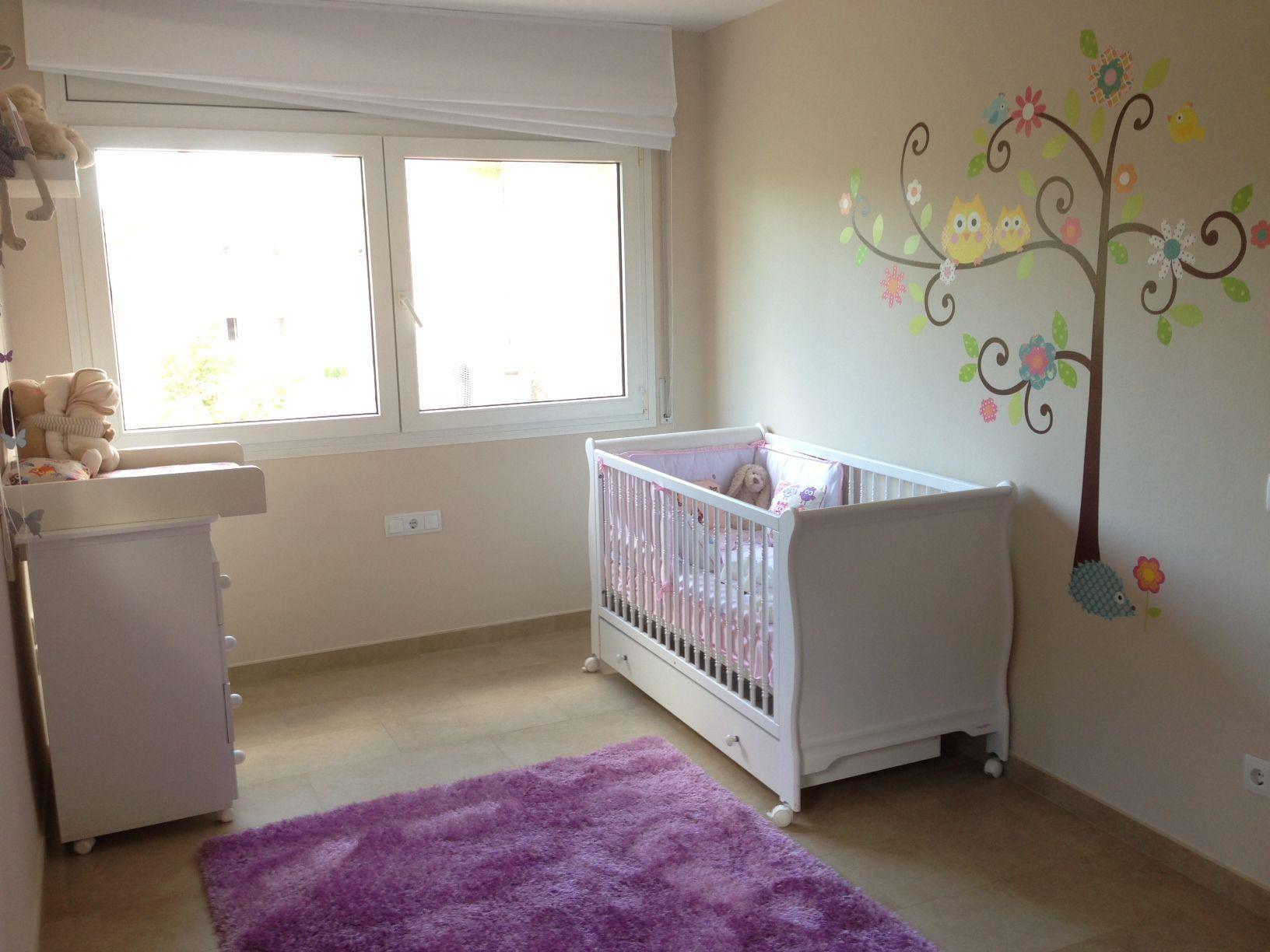 Habitación del bebe, con vinilo Totpint