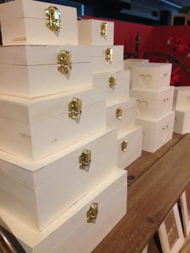 Manualidades: Cajas de Madera a decorar